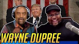 Black Veteran Wayne Dupree Celebrates Trump