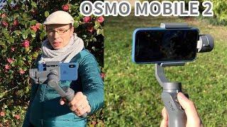 Stabilisateur : Premiers tests DJI Osmo mobile 2 avec iPhone X, 7 Plus, 6s Plus | perche motorisée