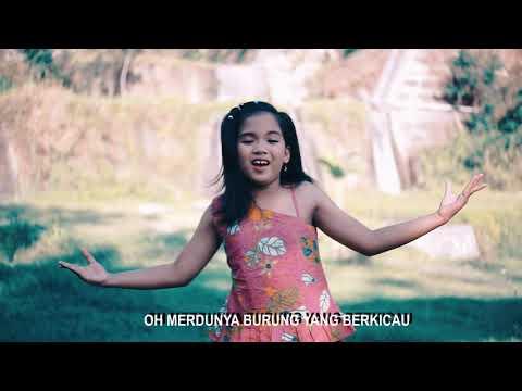 Lagu Anak IRAMA DESAKU YANG INDAH ( Genoveva Dinasty) COVERING by Theona Widya Paramita