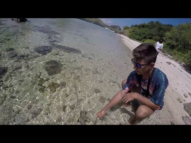 Komodo Island Clear Water Shore Fishing