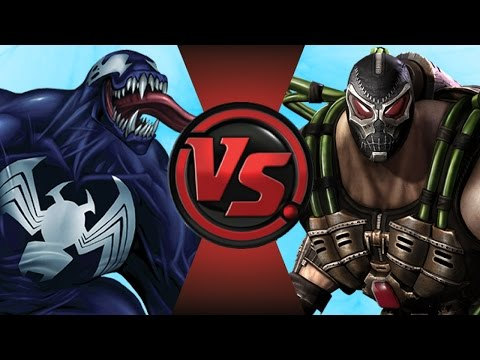 VENOM vs BANE! (Marvel VS DC Comics) Cartoon Fight Club Episode 108