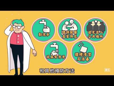 腸病毒宣導動畫 (30秒)