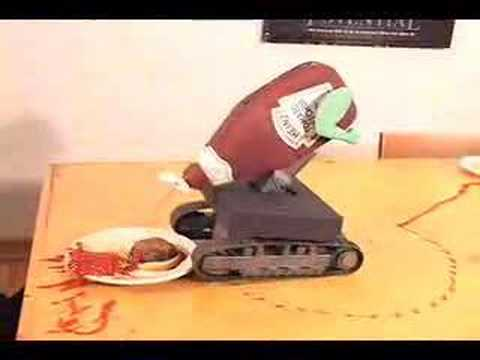 Heinz Ketchup Bot isn't good at his job