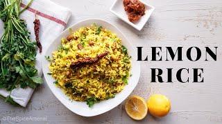 Easy Lemon Peanut Rice