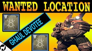 Wanted Ghaul Devotee Location | Lost Oasis IO | Spider Wanted Bounty | Destiny 2 Forsaken