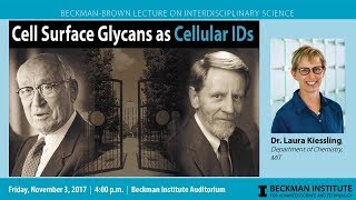 "Thumbnail of ""Cell Surface Glycans as Cellular IDs"" - Dr. Laura Kiessling (Beckman-Brown Lecture) video"