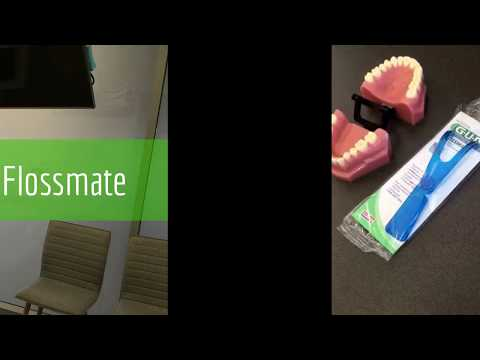 How To Use The GUM Flossmate