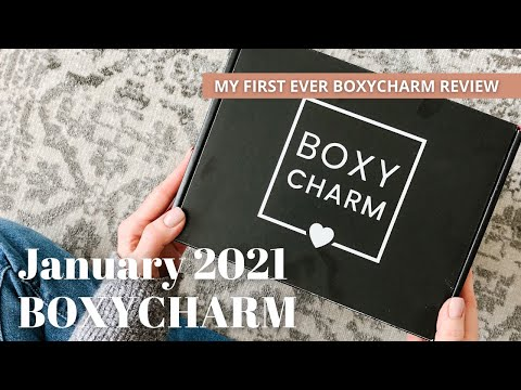 BOXYCHARM Unboxing January 2021