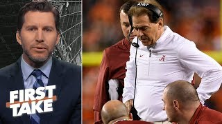 Nick Saban panicked in Alabama loss to Clemson – Will Cain | First Take