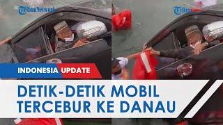Detik-detik Menegangkan Sopir Selamatkan Diri seusai Mobil Tercebur ke Danau Toba, 1 Orang Tewas