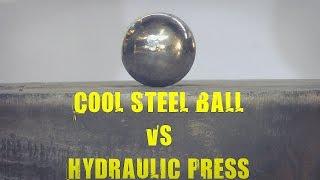 Steel Ball vs 500 Ton Hydraulic Press