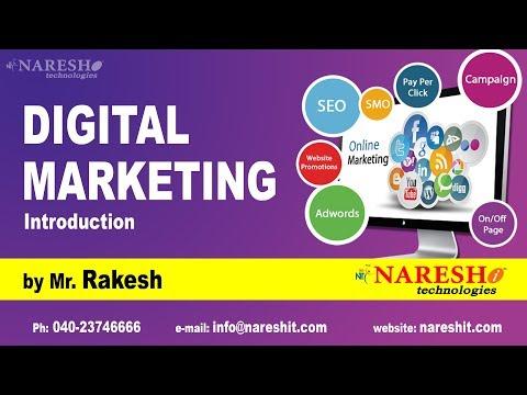 Digital Marketing Introduction By Mr Rakesh