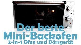Steba KB41 eco - der beste Mini-Backofen - auch als Dörrautomat!