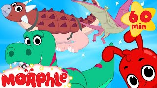 My Toy Dinosaurs +1 Hour My Magic Pet Morphle Episodes With Motorbikes And Vehicles