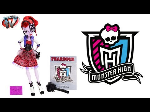 Monster High Picture Day Operetta Doll Toy Review, Mattel