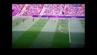 preview picture of video 'Gol Meksyk 1-0  Brazylia finał piłka nożna Londyn 2012 /  Goal Mexico 1-0 Brazil Peralta'