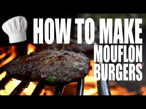 How to make Mouflon Burgers