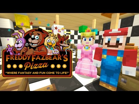 Minecraft Wii U - Super Mario Series - Freddy FazBear's Pizzeria [160]