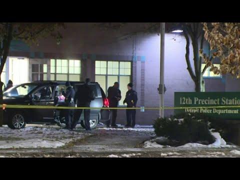 3 shooting victims stop at Detroit police precinct