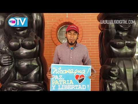 Mensaje de solidaridad de miembros del JPSUV con Nicaragua