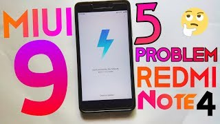 5 Problem With Miui 9 On Redmi Note 4+Stable Rom• Hindi Tech Video
