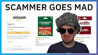 Furious Amazon Scammer Goes Mad Talking To Granny