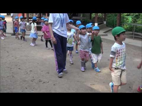 笠間 友部 ともべ幼稚園 子育て情報「朝のお散歩」