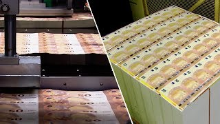 How Money Made   Making Of The New 100 Euro And 50 Euro