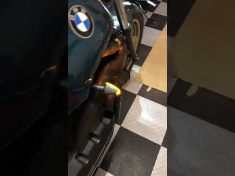 BMW K75 sKrambler LED blinkers