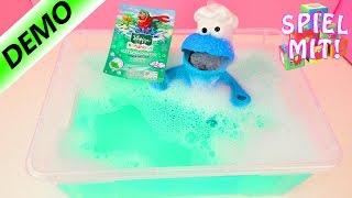 Play Doh Krümelmonster oder MATSCHMONSTER? - Kneipp Schaumbad für Badewanne - Wasserspielzeug