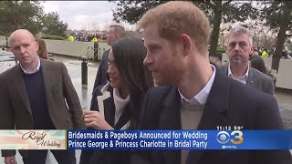 Bridesmaids And Pageboys Announced For Royal Wedding