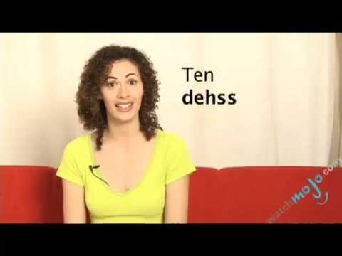 Portuguese Translations – How To Say Ten