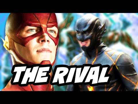 The Flash Season 3 The Rival Black Flash