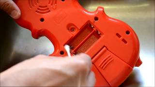 How To Clean Battery Acid (Corrosion) In Toy Battery Compartments using a Q-Tip