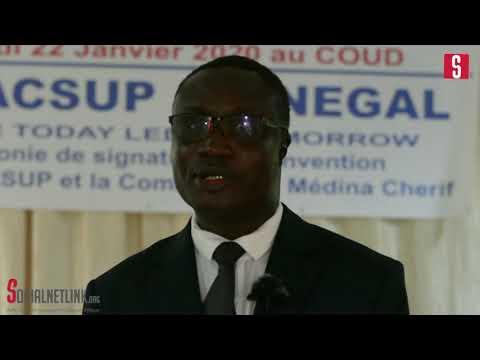 Interview de notre Ambassadeur du Cluster M. Ibrahima Éloi SARR DG de CACSUP