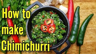 How to Make Chimichurri Quick and Easy Recipe