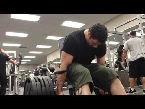 Hammer Strength Seated Shrugs - 5 Wheels - 8 Reps