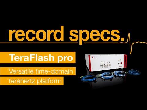 TeraFlash pro - record specs.