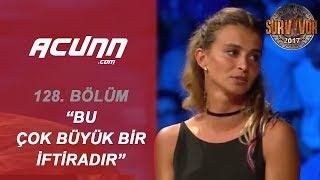 Pınar ve Sema Canlı Yayında Yüzleşti! | Bölüm 128 | Survivor 2017