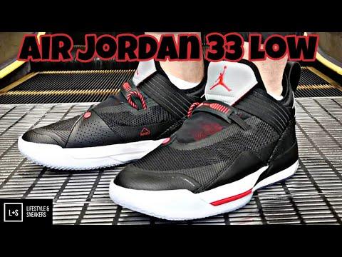 Air Jordan 33 Low Black Cement