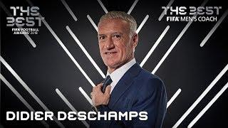 Didier Deschamps reaction - The Best FIFA Men's Coach 2018