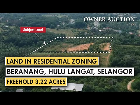[Owner Auction™] Freehold land in residential zoning near Eco-Majestic, Selangor for auction sale
