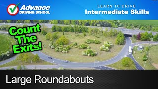 Large Roundabouts  |  Learn to drive: Intermediate skills