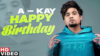Birthday Wish | A Kay | Birthday Special | Latest Punjabi Songs 2020 | Speed Records