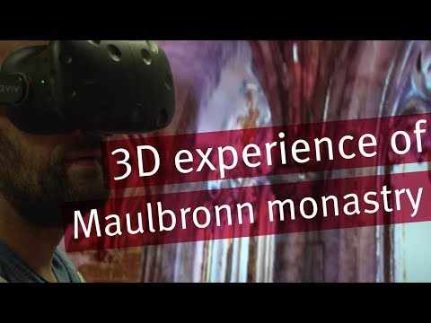 Working on the 3D visualisation of Maulbronn Monestery