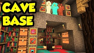 Download Minecraft CAVE House Survival Base Tutorial (How to