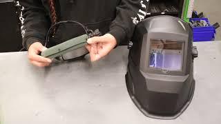 Forney Easy Weld® Auto-Darkeing Welding Helmet Headgear Overview