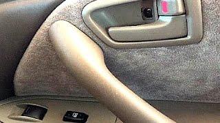 Broken Car Door Latch Repair- 1997 Toyota Camry