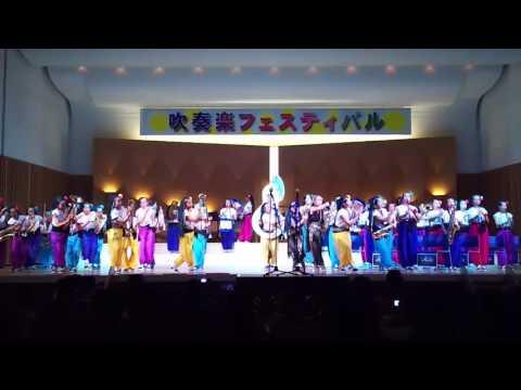 小牧市吹奏楽フェスティバル2016 小牧市立小牧中学校