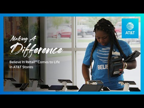 AT&T Believe in Retail is Making a Difference in Chicago-youtubevideotext